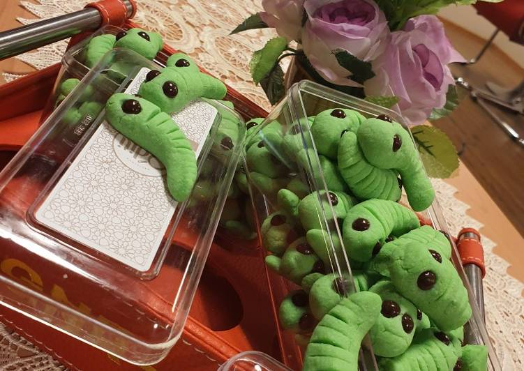 Worms Cookies (Semprit Modern)