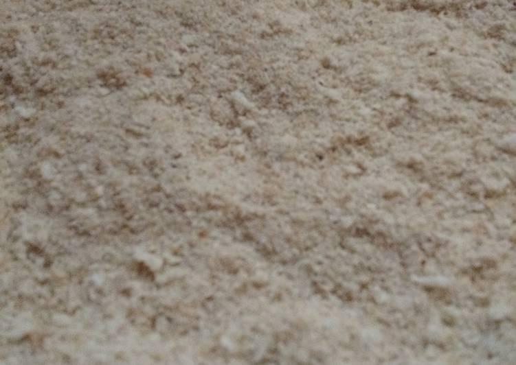 Fresh bread crumbs