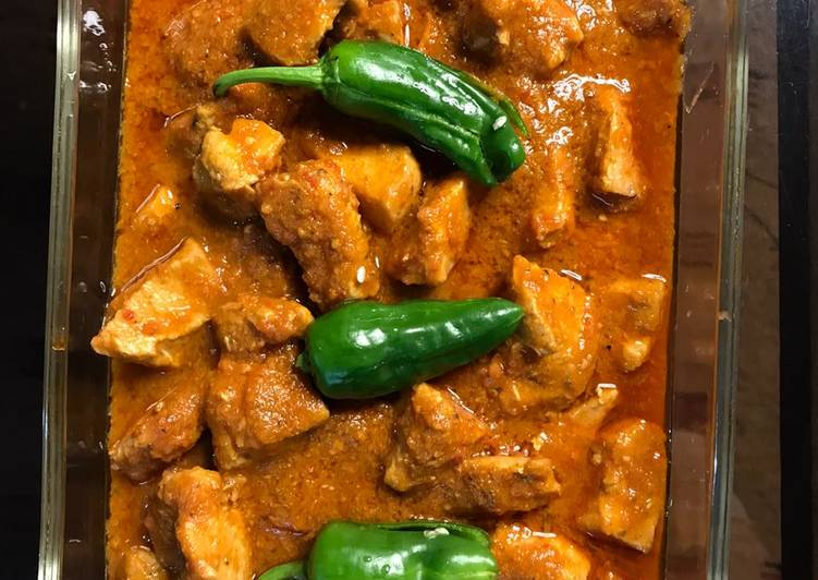 Recipe of Homemade Chicken boneless kadahi