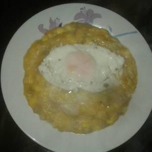 Charquicán chileno con huevo