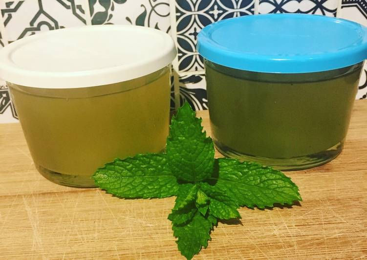 Recipe: Appetizing Sirop de menthe