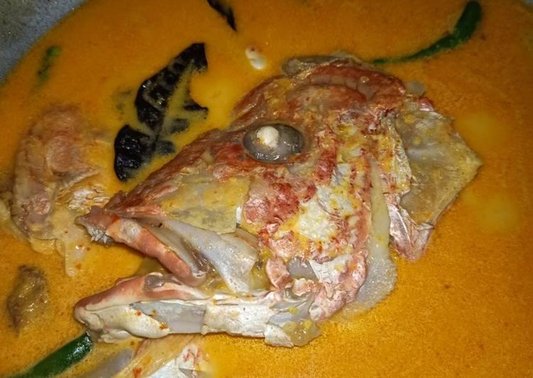 Resep Gulai Lemak Cili Api Kepala Ikan Merah Oleh Al Fa Cookpad