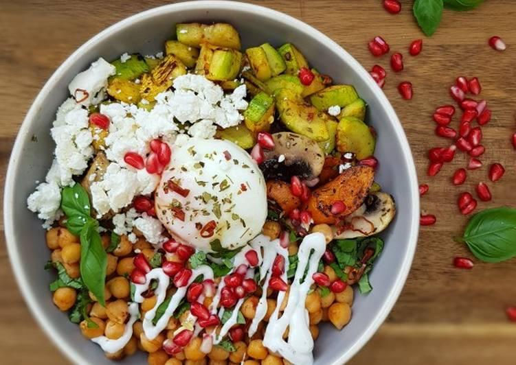 Recipe: Delicious Veggie Gemüsebowl