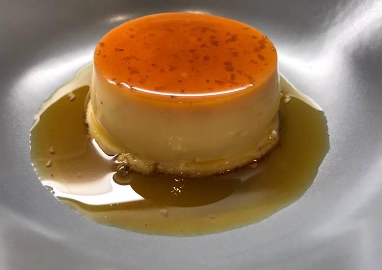 La Recette Pas à Pas Crème renversée au Caramel