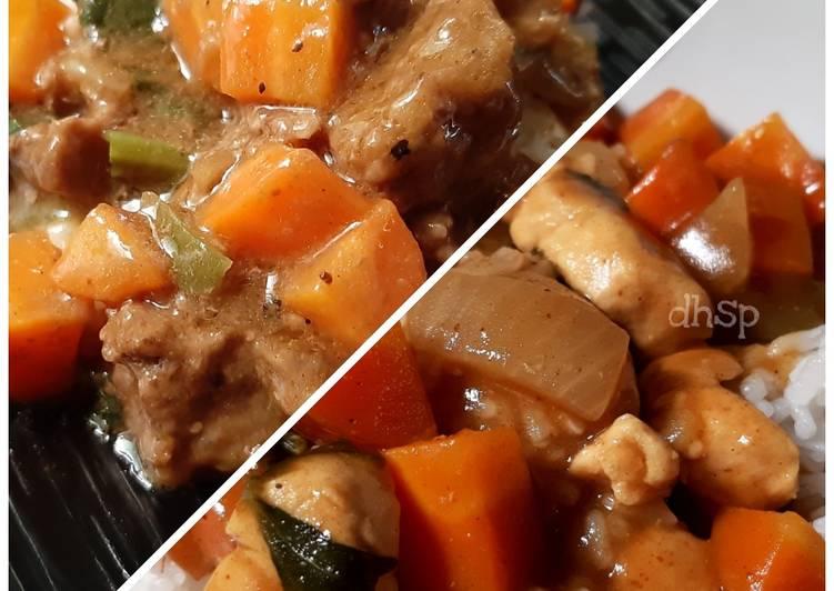 Kari Daging Sapi/Ayam