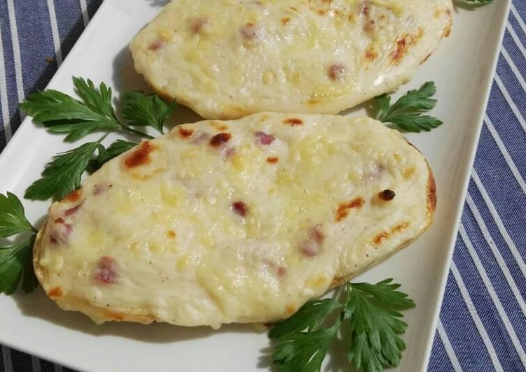 Paninis de jamón y Mozzarella