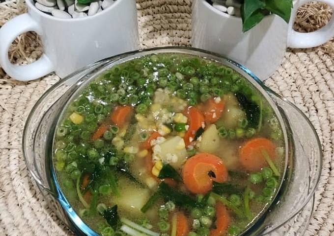 Sop Ayam Simpel (recook)