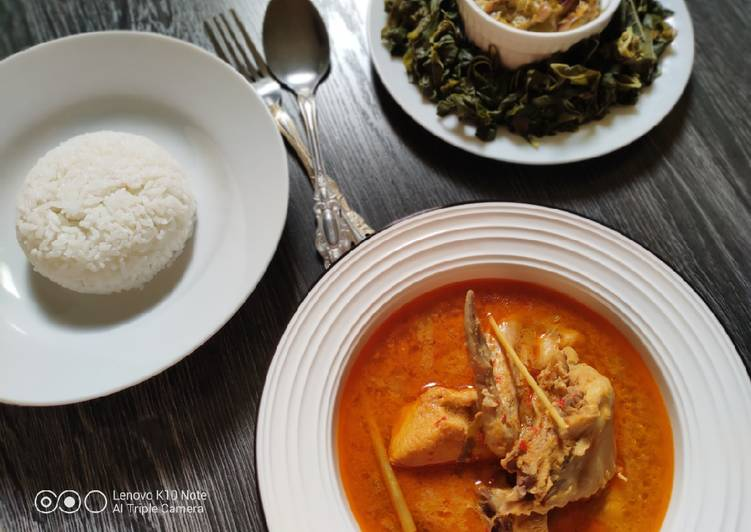 Gulai Ayam Khas Minang