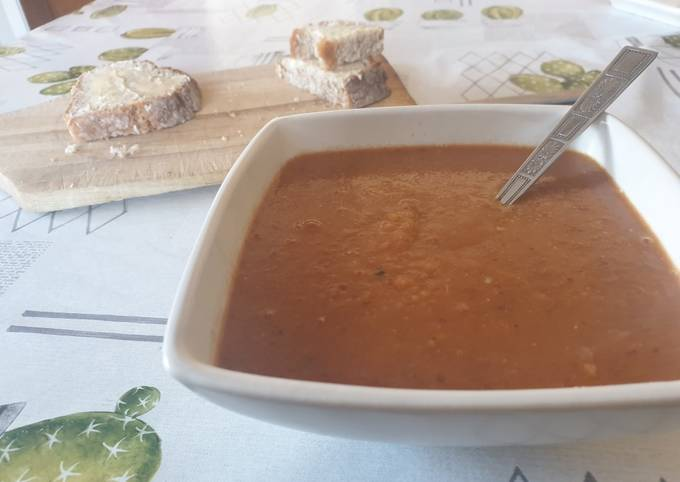 Recipe of Perfect Bean and lentil soup