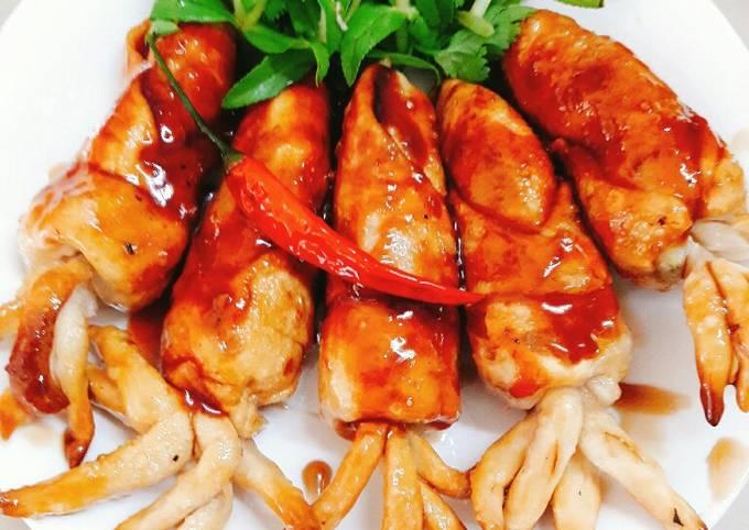 Cách Làm Món Mực rim nước mắm (món chay) của Huyen le Tran - Cookpad