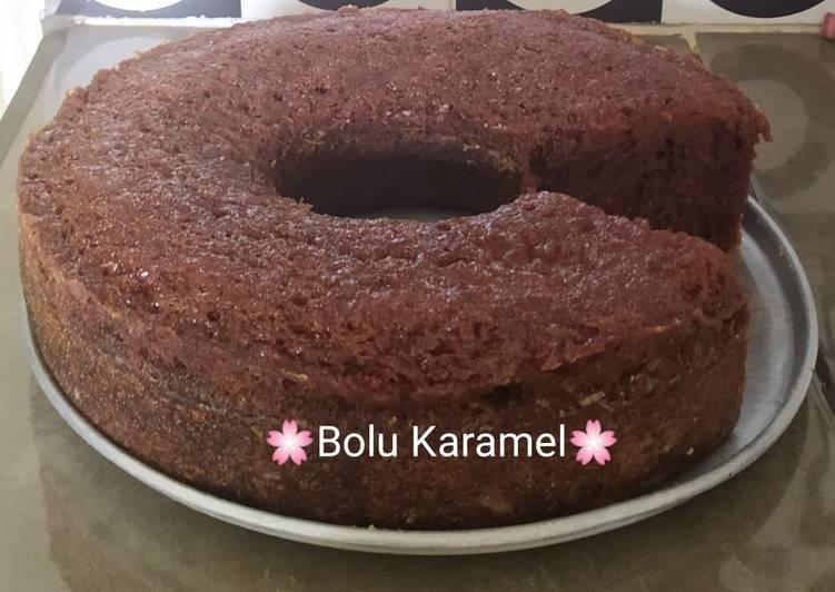 cara mengolah Bolu Karamel - Sajian Dapur Bunda