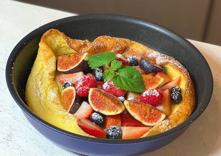 Steps to Make Super Quick Homemade Dutch Baby Pancake