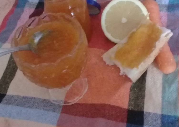 Confiture d'orange et carotte