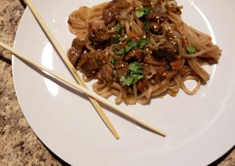 Recipe of Speedy Steak Lo mein
