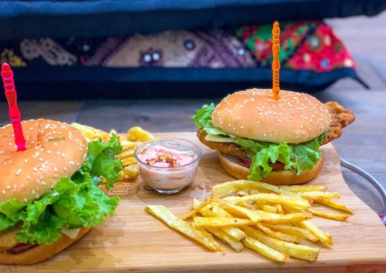 Easiest Way to Prepare Most Popular Zinger Burger