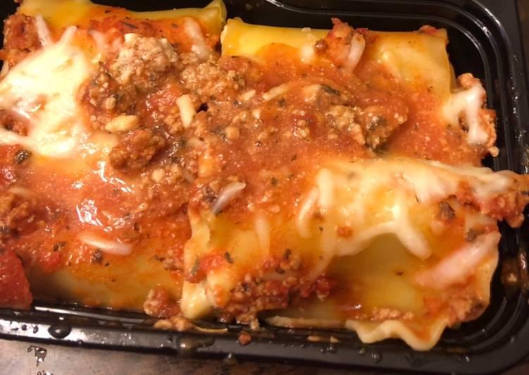 Recipe of Award-winning Turkey Lasagna roll