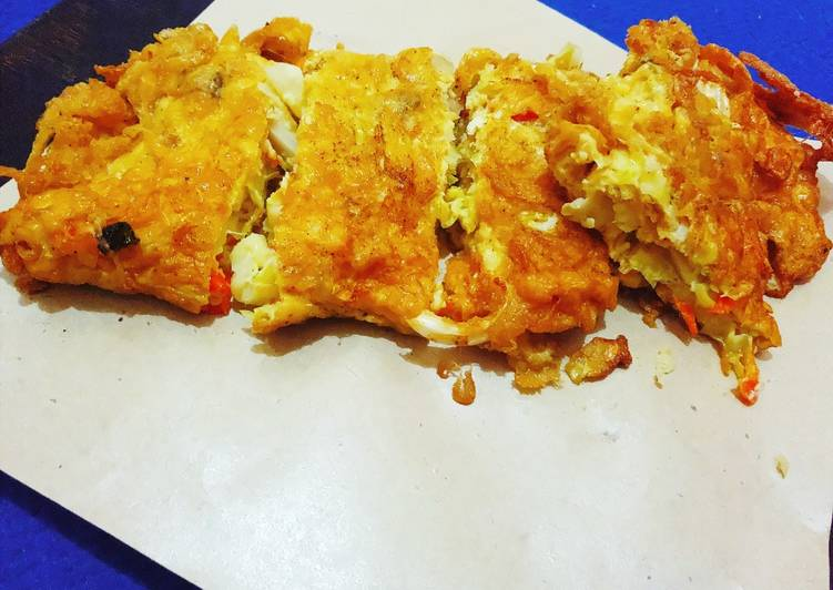 Telur dadar sayur Kol