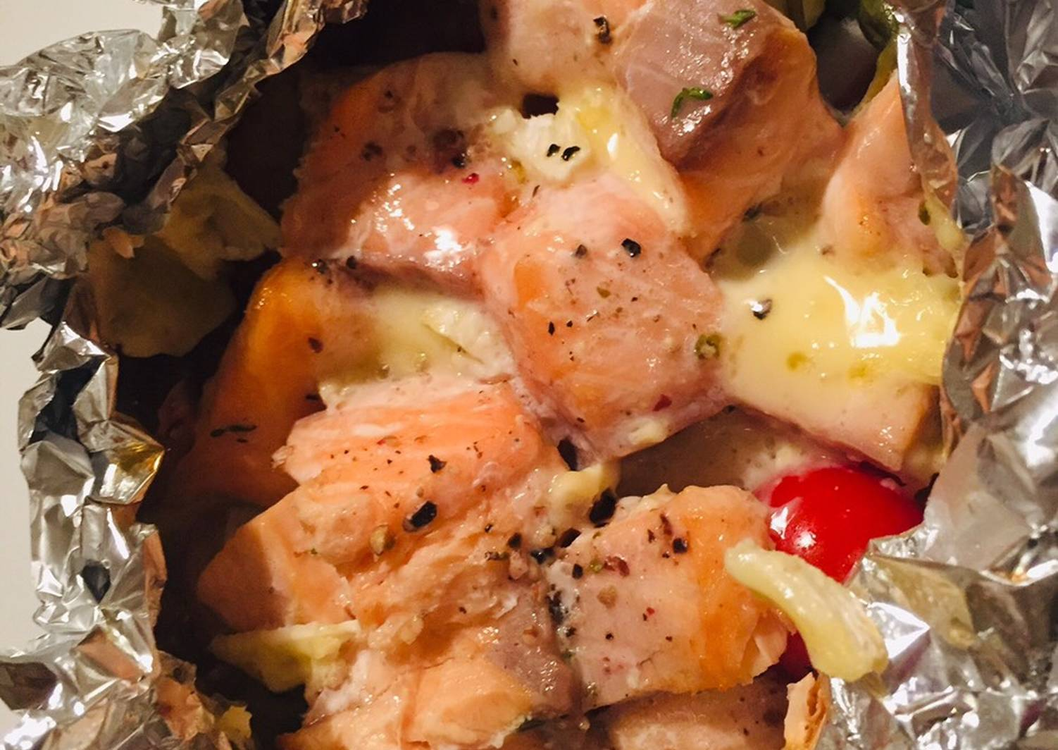 пошаговые рецепты с фото запеченный лосось детей