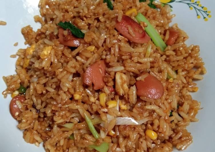 Nasi goreng sederhana homemade