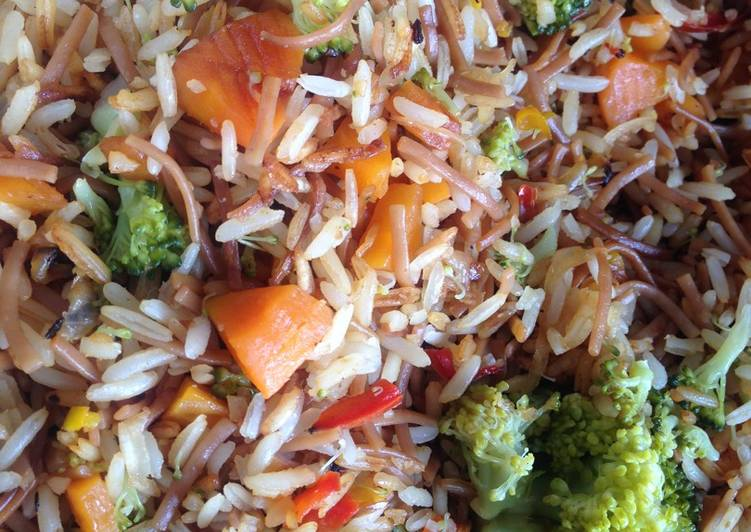 How to Make Tasty Rice with Vegetables