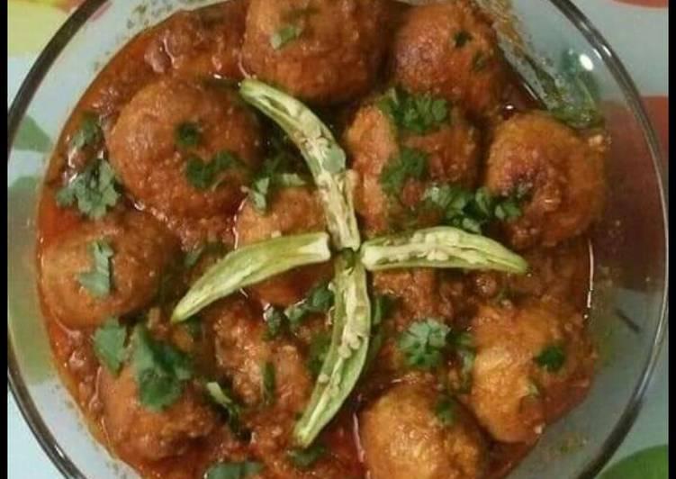 Chicken Kofta Curry😍😋
