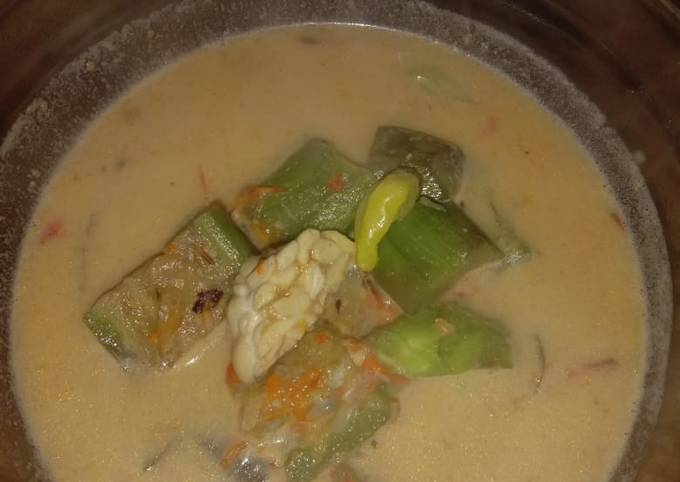 sambel goreng terong tempe di santenin - resepenakbgt.com