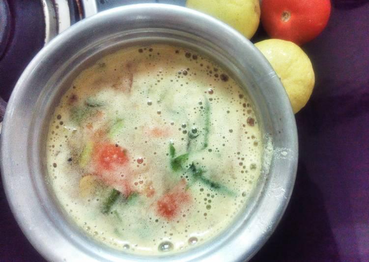 Recipe of Super Quick Homemade Ellumichai Saathumadhu / Lime Rasam