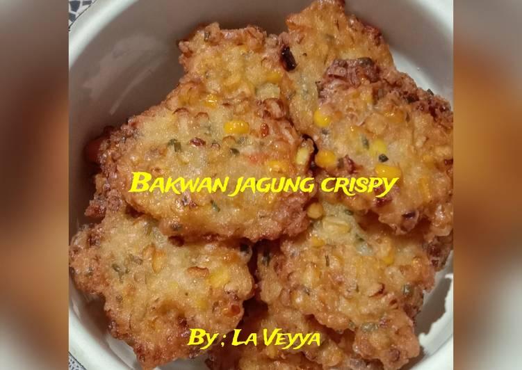 Bakwan jagung pedas crispy