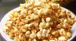 Hình ảnh món Popcorn..bắp rang bơ vị caramel,món ăn vặt của trẻ nhỏ