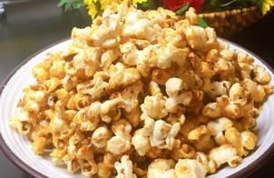 Popcorn..bắp rang bơ vị caramel,món ăn vặt của trẻ nhỏ