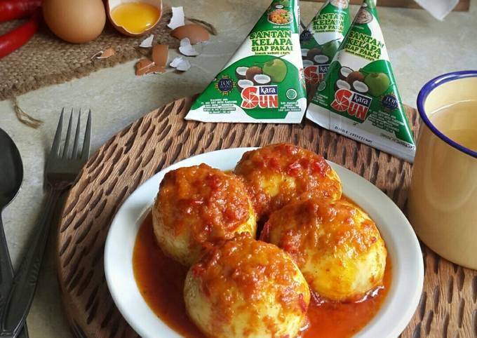 Telur balado