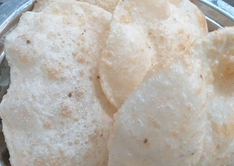 Recipe of Quick Ajwain Puri