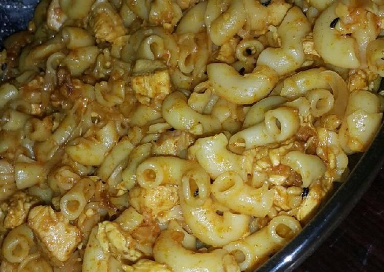 Achari macaroni #eidkay pakwan