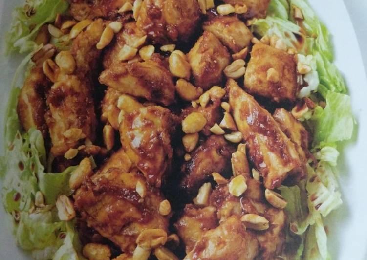 Old Fashioned Dinner Ideas Winter Peanut Chicken Saute