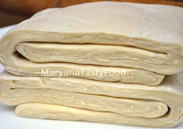 слоеное тесто с рецепт