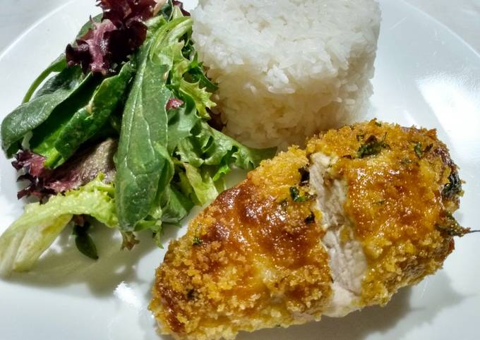 Green Curry Baked Chicken Breasts