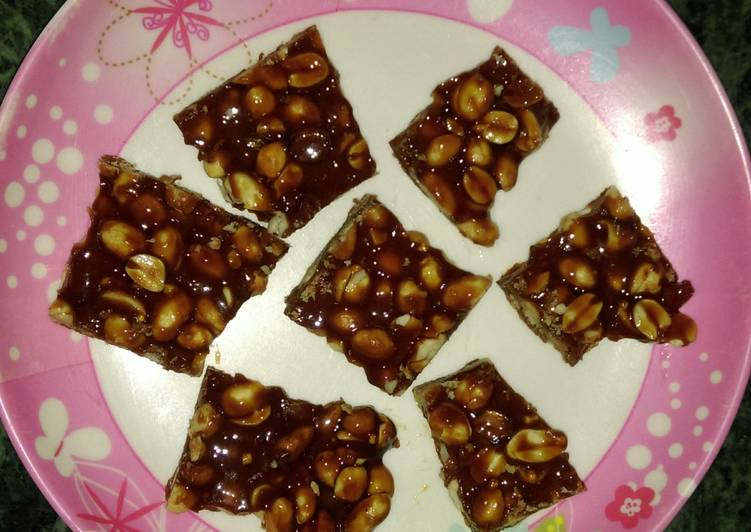 Easiest Way to Prepare Perfect Peanut brittle