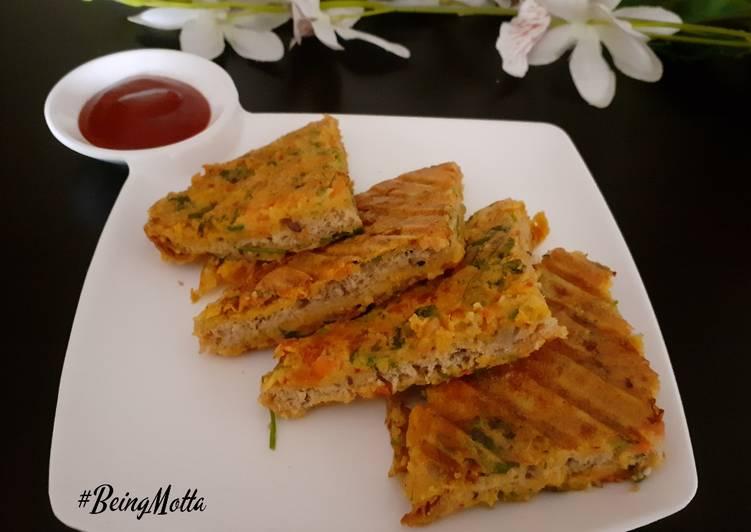 Bread-Chilla Sandwich