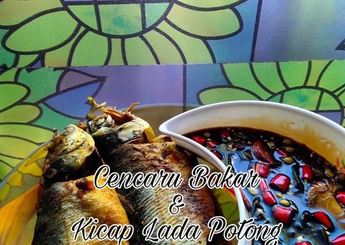 Resep Cencaru Bakar & Kicap Lada Potong, Bikin Ngiler