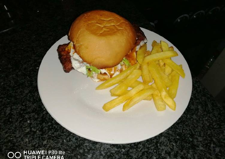 Recipe of Perfect Rib burger