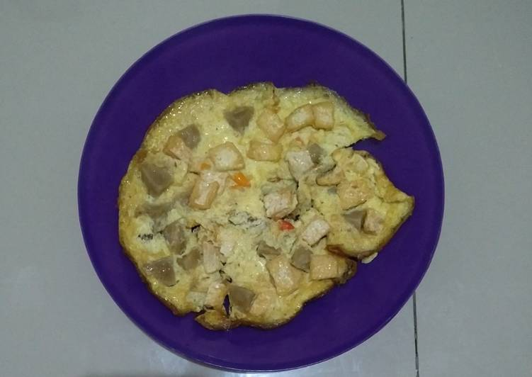 Resep Omelet Tahu Bakso Susu Bikin Jadi Laper