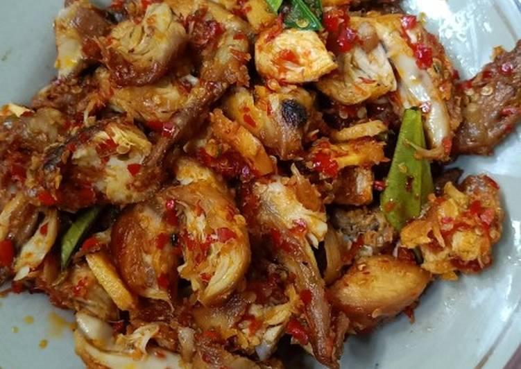 Ayam rica2 ala chef table