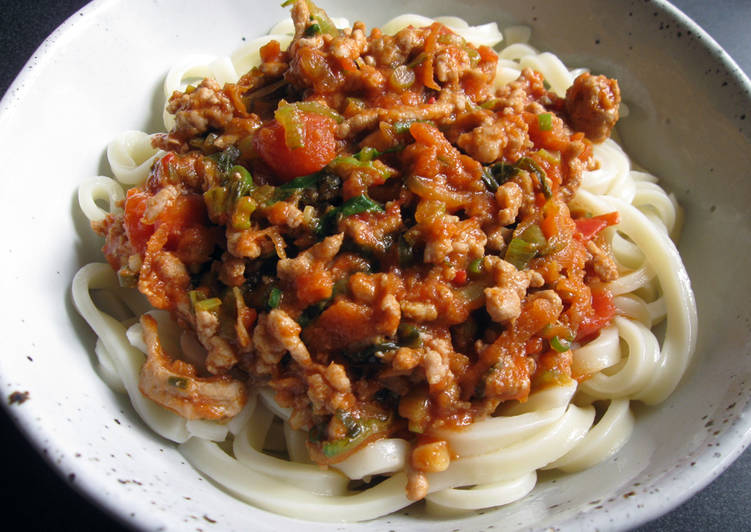 Easiest Way to Make Award-winning Miso & Tomato Meat Sauce