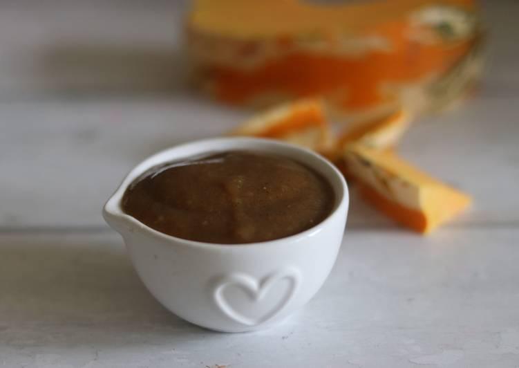 Recipe of Speedy Easy homemade spiced pumpkin purée 🎃