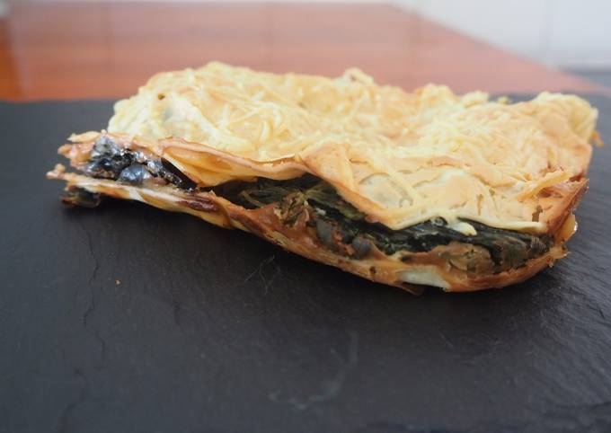Lasagnes Épinard / Lait de coco