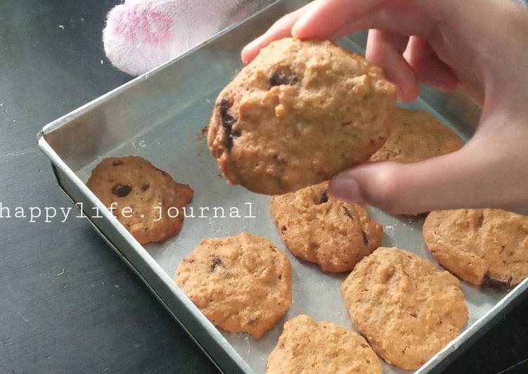 1. Chewy Chocochips Cookie