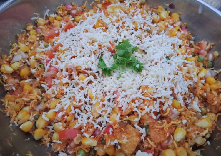 Steps to Prepare Homemade Corn Bhel