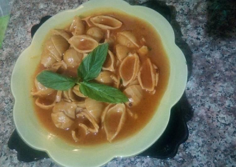 Recette Délicieux Soupe de Conchiglioni