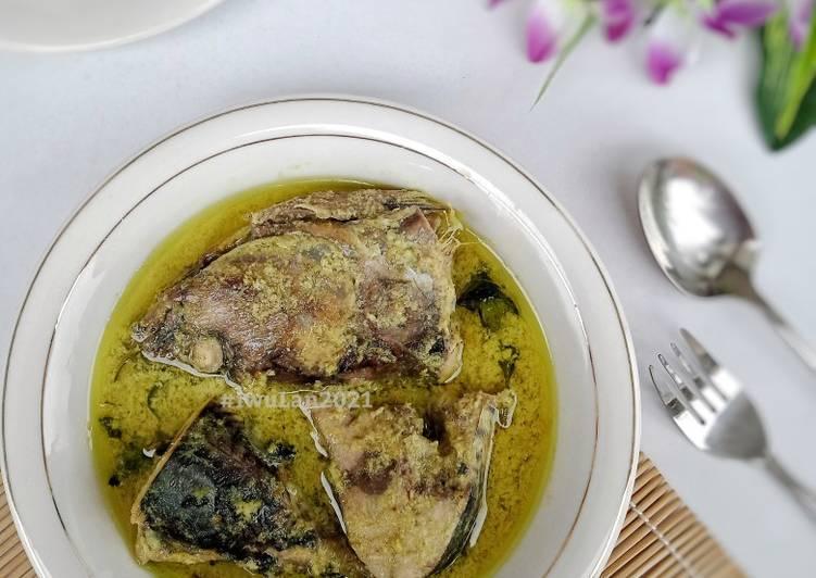 Gulai Pangek Masin Ikan Tongkol
