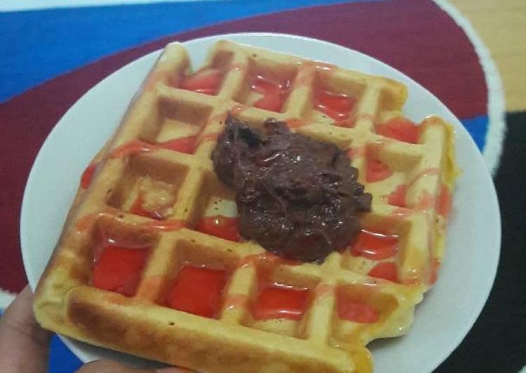 Resep Waffle tanpa mixer Paling Enak